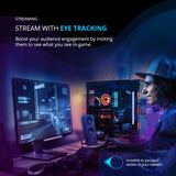 Tobii Eye Tracker 4C - the Game-changing Eye Tracking Peripheral for Streaming and PC Gaming.