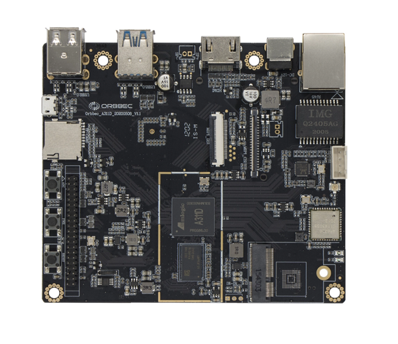 ZORA P1 ORBBEC SINGLE BOARD COMPUTER IOT