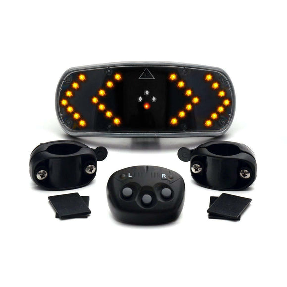BICYCLE CYCLE BIKE INDICATORS SIGNAL LED LIGHT Wireless Front Rear Indicating UK