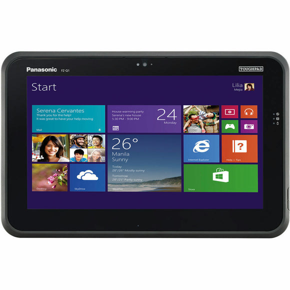 Panasonic ToughPad FZ-Q1 Core i5-4302Y @ 1.60GHz