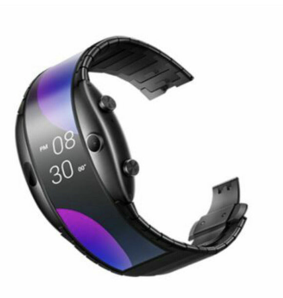 ZTE Nubia alpha Smart Watch Wifi version foldable flexible Oled display Global