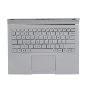 For Microsoft Surface Book Base Keyboard Dock 1705 Laptop Replacement Silver