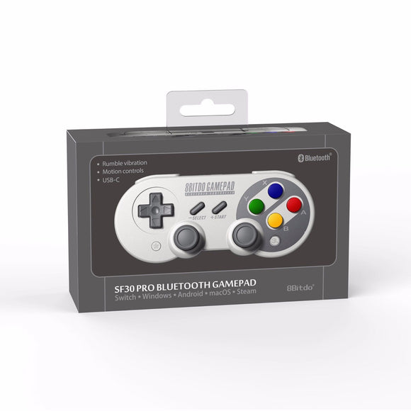 NEW!8Bitdo SF30 Pro Gamepad Controller for Nintendo Switch Windows macOS Android