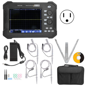 TAO3104 Oscilloscope 4CH LCD TouchScreen Digital Tablet Oscilloscopes Kits