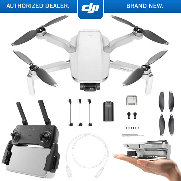 DJI Mavic Mini - The Everyday FlyCam Quadcopter Drone (CP.MA.00000120.01)