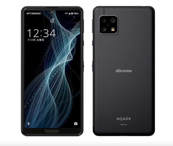 Sharp Aquos sense 4 android 10 newest model 2020 JAPAN Black