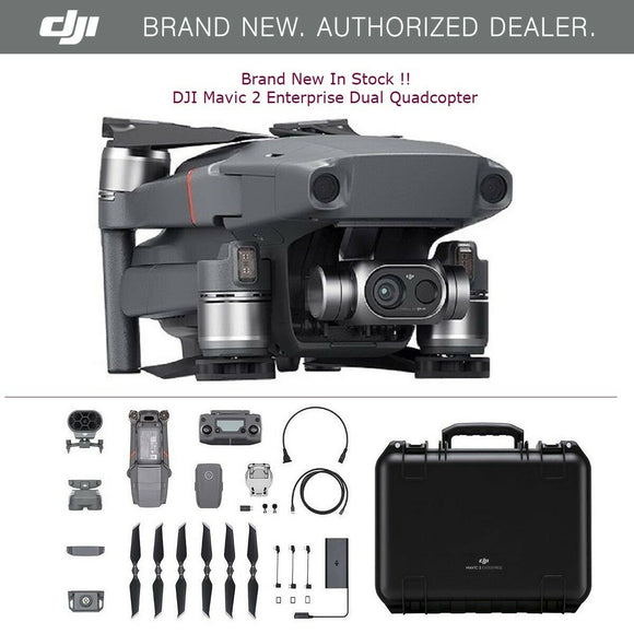 DJI Mavic 2 Enterprise Dual Quadcopter - CP.EN.00000107.01 Search & Rescue Drone