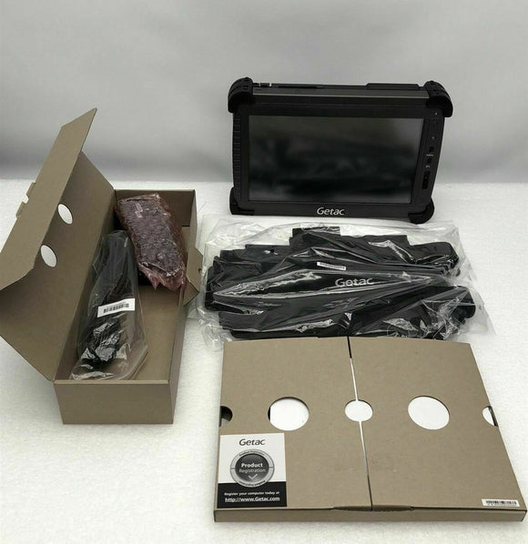 GETAC RUGGED TABLET MODEL E110 ***NEW IN BOX WITH ACCESSORIES*** NICE!!