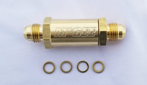 McGEE Secondary By-pass Valve, Brass