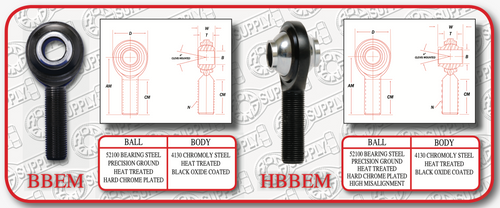 HBBEM  High Strength Alloy Steel (High Misalignment)