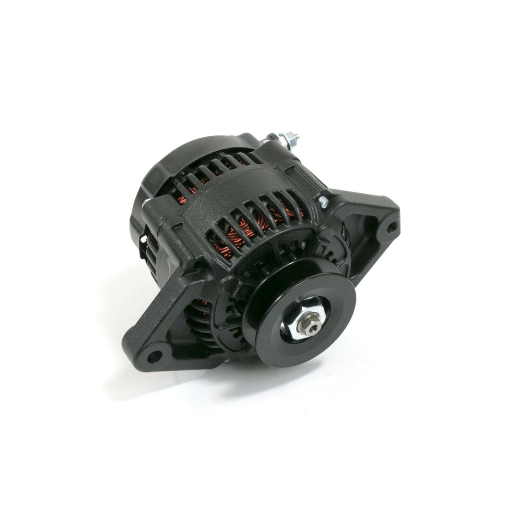 TSP Top Street Performance Alternator ES1004BK; 90 Amp Black Denso Internal Reg.