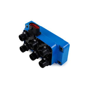 Ford '98-'10 V6 EDIS Ignition Coil with Horizontal Connector