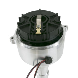 Chevy SB/BB V8 Low-Profile Pro Series Pro Billet Distributor with Crab Cap