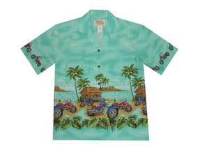 C-455-Green-6XL - All Clothes Hawaiian