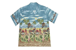 C-481 in Blue Grey 6XL - All Clothes Hawaiian