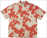 Lanai Coral - Hawaiian Aloha Cotton Shirt - All Clothes Hawaiian