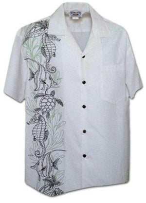 Lio Kai White - 100% Cotton - All Clothes Hawaiian