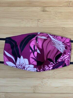 Makapuu Purple Mask - All Clothes Hawaiian