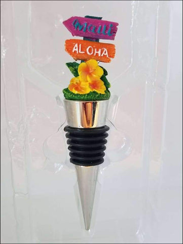 Maui Tiki Wine Stopper - All Clothes Hawaiian