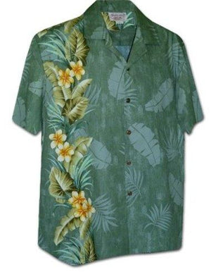 Pacific Sage - 100% Cotton - All Clothes Hawaiian