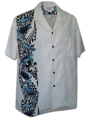 Sea Turtle White - 100% Cotton - All Clothes Hawaiian