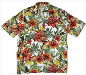 Starburst Cream - Discontinued - Check with us for existing inventory before ordering - All Clothes Hawaiian