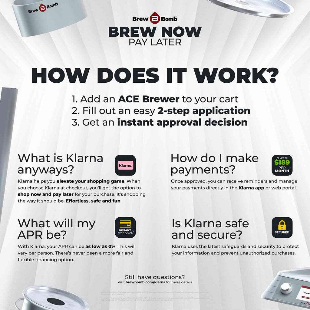 Brew Now, Pay Later.
