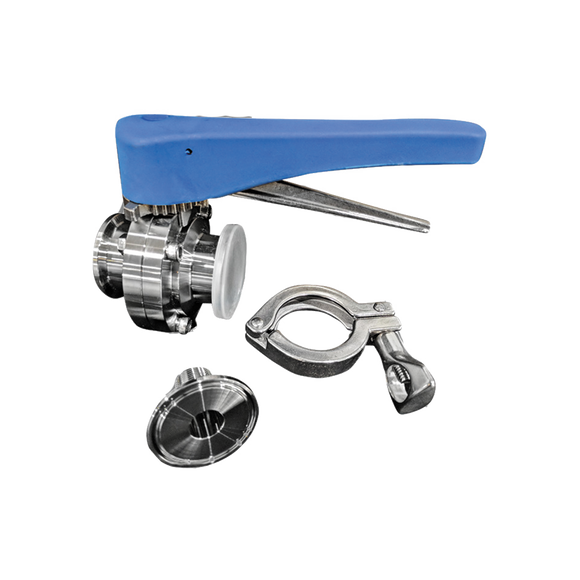 TriClamp Valve and Tank Fittings