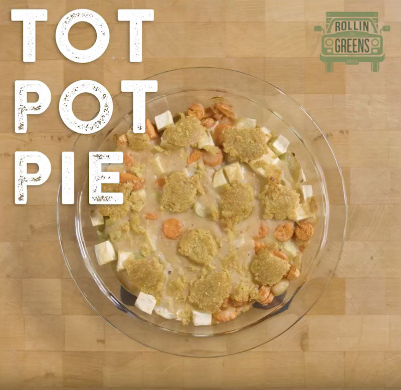 Millet Tot pie recipe. Great for the whole family!