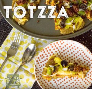 Millet Totzza recipe. Great for the whole family and gameday snack!