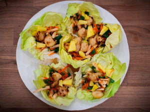 Thai Wing Lettuce Cups