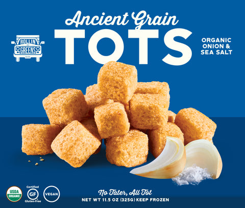 Organic Onion & Sea Salt Ancient Grain Tots