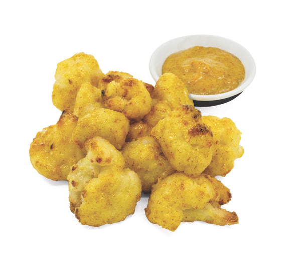Sweet Mustard Cauliflower Wings