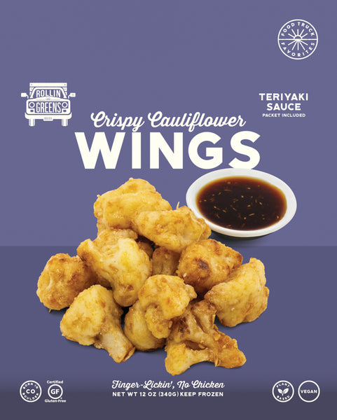 Teriyaki Cauliflower Wings