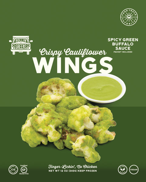 Spicy Green Buffalo Cauliflower Wings, 12 oz (6-pack)