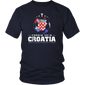 Croatia Soccer Jersey Russia 2018 Football Team Fan T-Shirt - Hoodie Teefig