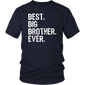 Best Big Brother Ever Gift T-Shirt - Hoodie Teefig