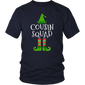 Pro Cousin Squad Elf Matching Family Group Christmas T Shirt