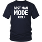 Best Man Mode Funny Bachelor Party Wedding T-Shirt - Hoodie Teefig