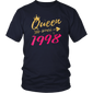 20th Birthday Gifts Shirts for Women, Queen Since 1998 - Hoodie Teefig
