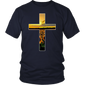 Christian Faithful Cross Sunflowers Field Design T-shirt - Hoodie Teefig