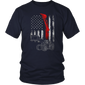 American Flag USA Flag Tshirt for Men - Hoodie Teefig