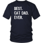 Best Cat Dad Ever Gift T-Shirt - Hoodie Teefig