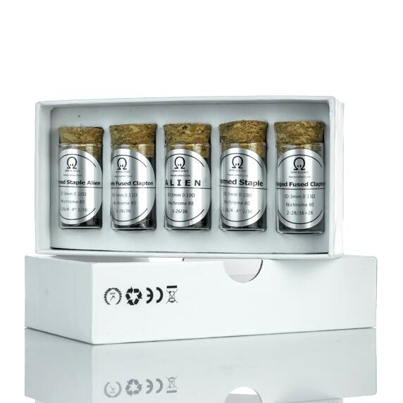 Handcrafted Pre-built Coils 5in1 kit by OHM Science