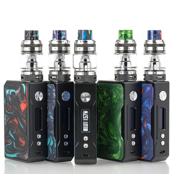 VOOPOO Black Drag 157W TC Kit with UFORCE T1