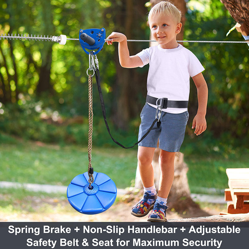 Klokick kids zipline kit