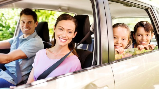What are some hacks to keep the kids from going crazy on long road trips?