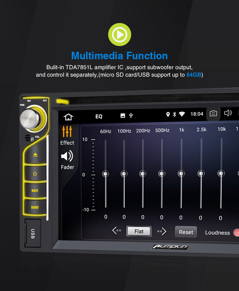 Car Stereo with EQ