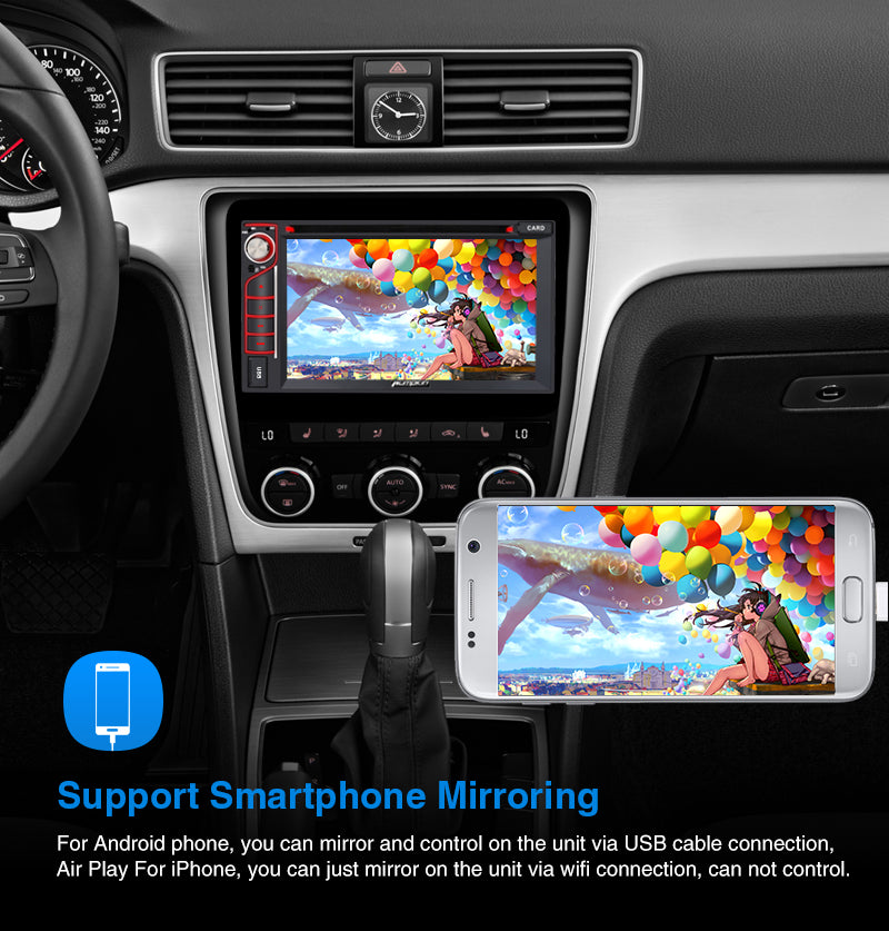 Android 9.0 Car Stereo with phone mirror link
