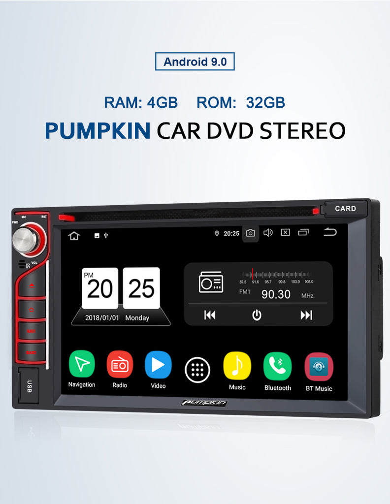 "6.2"" Double Din Car Stereo"